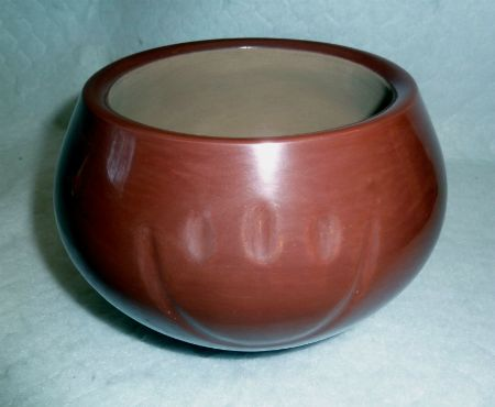 Red Bear Paw Pottery, by Daryl Whitegeese