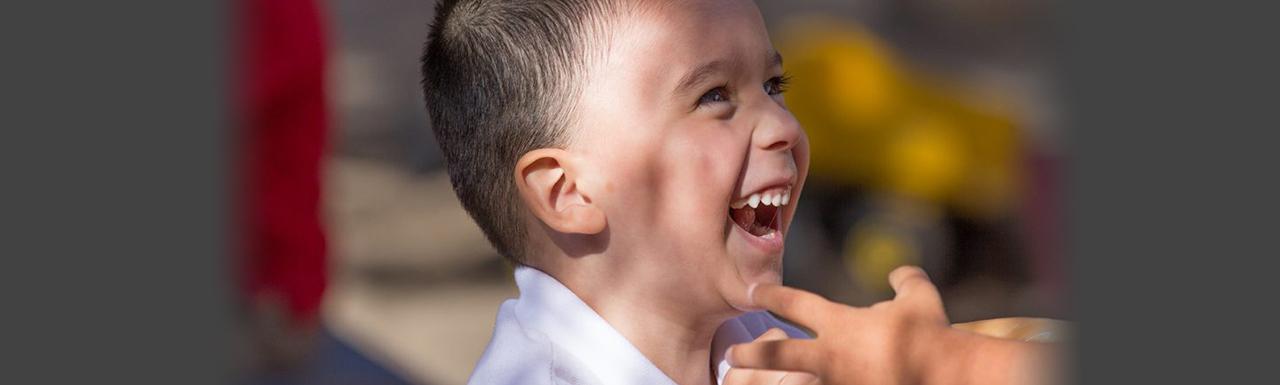 Preschool joy, Rich Saxon photo